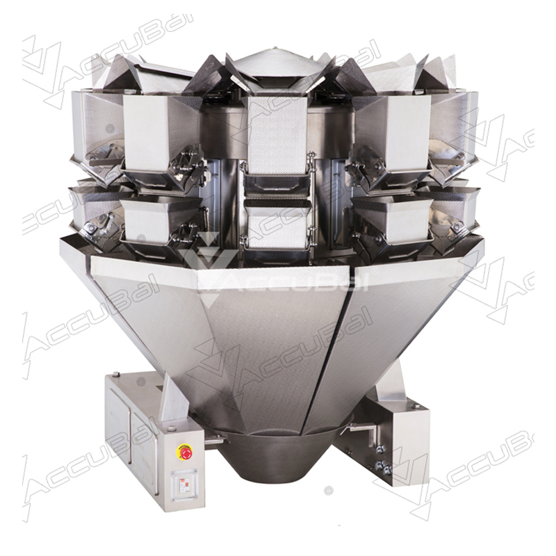 Large Capacity 10-head Weigher 5.5L Model